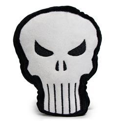 Dog Toy Squeaky Plush - Punisher Logo4 Black White