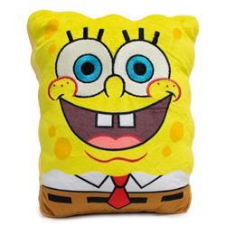Dog Toy Squeaky Plush - SpongeBob SquarePants Open Mouth Smile Body