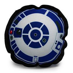 Dog Toy Ballistic Squeaker - Star Wars R2-D2 Head Top View