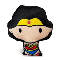 Dog Toy Squeaky Plush - Chibi Wonder Woman Standing Pose