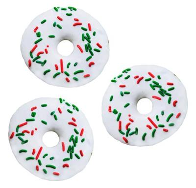 Seasonal Doggie Donut - Christmas