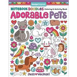 Adorable Pets Coloring Book