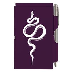 Purple Snake Flip Note