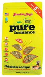 Grandma Lucy's Pureformance Chicken Grain Free Dog Food 1 Pound