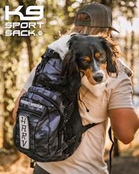 K9 SPORT SACK PLUS 2--CAMO BLUE
