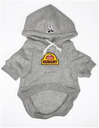 Hoodie with Always Hungry Patch
