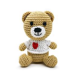 PAWer Squeaky Toy - Teddy Bear