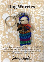 Dog Worry Doll Key Chain