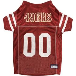 San Francisco 49ers Mesh NFL Jerseys by Pets First
