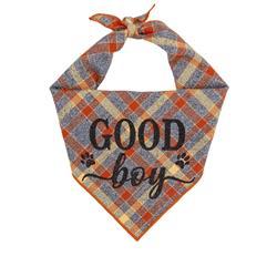 Plaid Bandana, Fall Bandana, High Quality Luxe Fabric, Flannel Bandana
