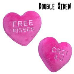 Free Kisses Heart by Lulubelles Power Plush