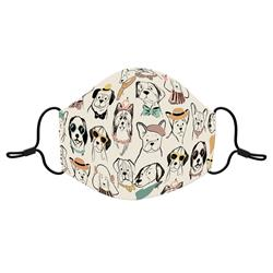 Puppy Portraits Reusable 3-layer Cotton Face Mask