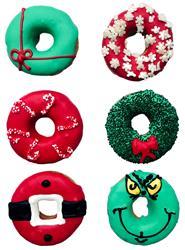 Christmas Doughnuts 2020