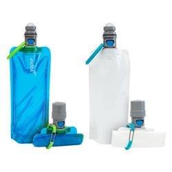 Vapur® EZ Lick™ Portable Dog Water Bottle--WHITEOUT