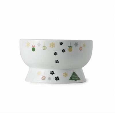 Raised Cat Water Bowl (Christmas Limited Edition)