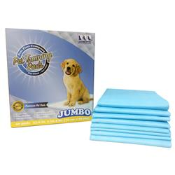 Jumbo Pet Training Pads by Pets First (40 pads per box)