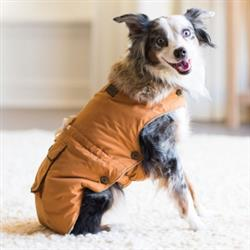 Wouapy™ Army Coat for Small & Medium Dogs -  Mustard