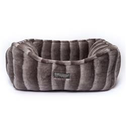 NANDOG CLOUD REVERSIBLE CHINCHILLA DOG PET BED