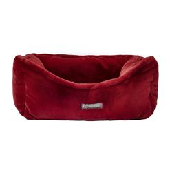 NANDOG CLOUD REVERSIBLE BURGUNDY DOG PET BED