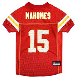 Patrick Mahomes Kansas City Chiefs Mesh NFL Jerseys by Pets First