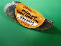Bacon & Cheddar Stuffed Cow Hoof Shrink With UPC and Sticker from Brazil
