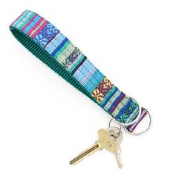 Parasol Beach Blanket Key Chain Wristlet Fob