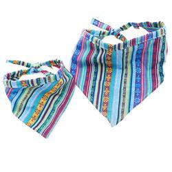 Parasol Serape Beach Blanket Dog Bandana