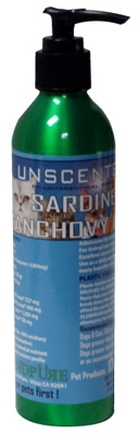 17 oz UNSCENTED Sardine-Anchovy Oil, Pharmaceutical Grade