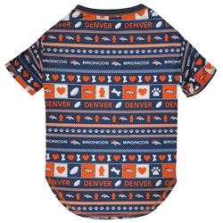Denver Broncos Ugly-Tee by Pets First