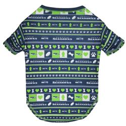 Seattle Seahawks Ugly-Tee by Pets First