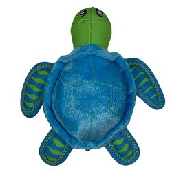 Clean Earth Plush Turtle by Spunky Pup