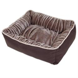 Petmate® Dig & Burrow® Nuzzle Lounger Chocolate Brown
