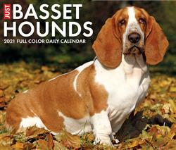 Basset Hounds 2021 Box Calendar