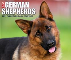 German Shepherds 2021 Box Calendar