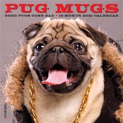 Pug Mugs 2021 Mini Calendar