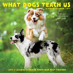 What Dogs Teach Us 2021 Mini Calendar
