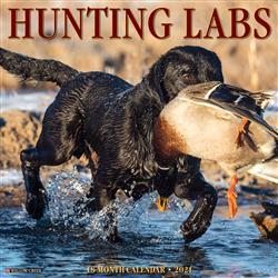 Hunting Labs 2021 Wall Calendar