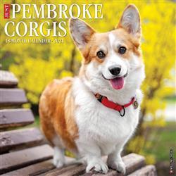 Pembroke Corgis 2021 Wall Calendar