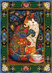 Painted Cat - 1000 Piece Puzzle