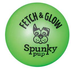 Fetch & Glow Ball by Spunky Pup