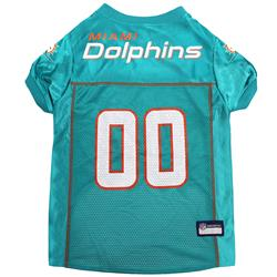 Miami Dolphins Mesh NFL Jerseys by Pets First