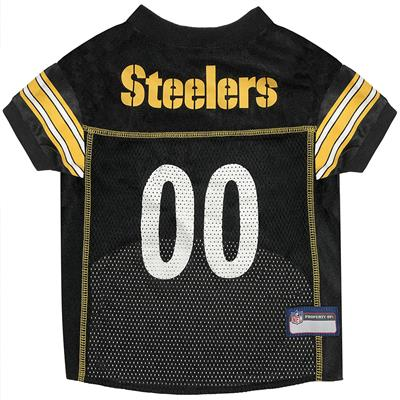 Pittsburgh Steelers Mesh NFL Jerseys by Pets First