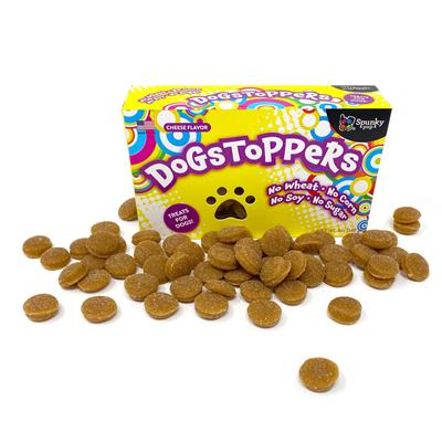 Dogstoppers Cheese Flavor Treats by Spunky Pup