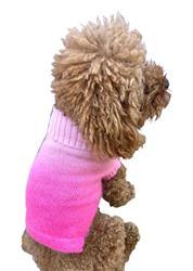 Newport Sunset, Pink Dip Dye Sweater (no sequins)