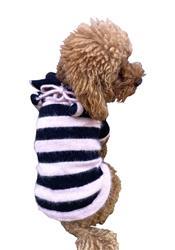 St. Tropez Polo Sweater with Pom Pom