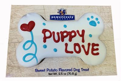 "6"" Puppy Love Bone - GiftBox - 6 Ct Case"