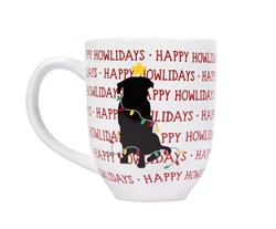 Happy Howlidays Dog Coffee Mug