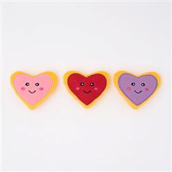 Valentine's Miniz 3-Pack - Heart Cookies