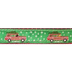 "Christmas Wagon - 1.25"" Collars, Leashes and Harnesses"