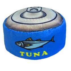 Can O Tuna Plush Cat Toy by Kittybelles